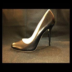 Sergio Rossi black scarpe Donna leather pump,
